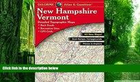 Buy Delorme Delorme New Hampshire Vermont Atlas   Gazetteer (Delorme Atlas   Gazetteer)  Hardcover