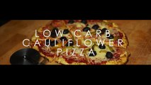 Low Carb Pizza Cauliflower Base Recipe 2016