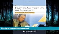 FAVORITE BOOK  Practical Contract Law for Paralegals: An Activities-Based Approach, Third Edition