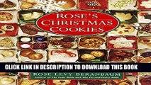 Best Seller Rose s Christmas Cookies Free Read