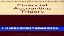 [PDF] Financial Accounting Theory: Issues and Controversies Full Collection