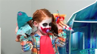 Supergirl becomes a doll vs Bad baby Jokergirl a ep2