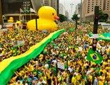 Trajetória do Golpe de Estado Brasil 2016 / Trajectoire de Coup au Brésil 2016 / Trayectoria del Golpe de Estado e