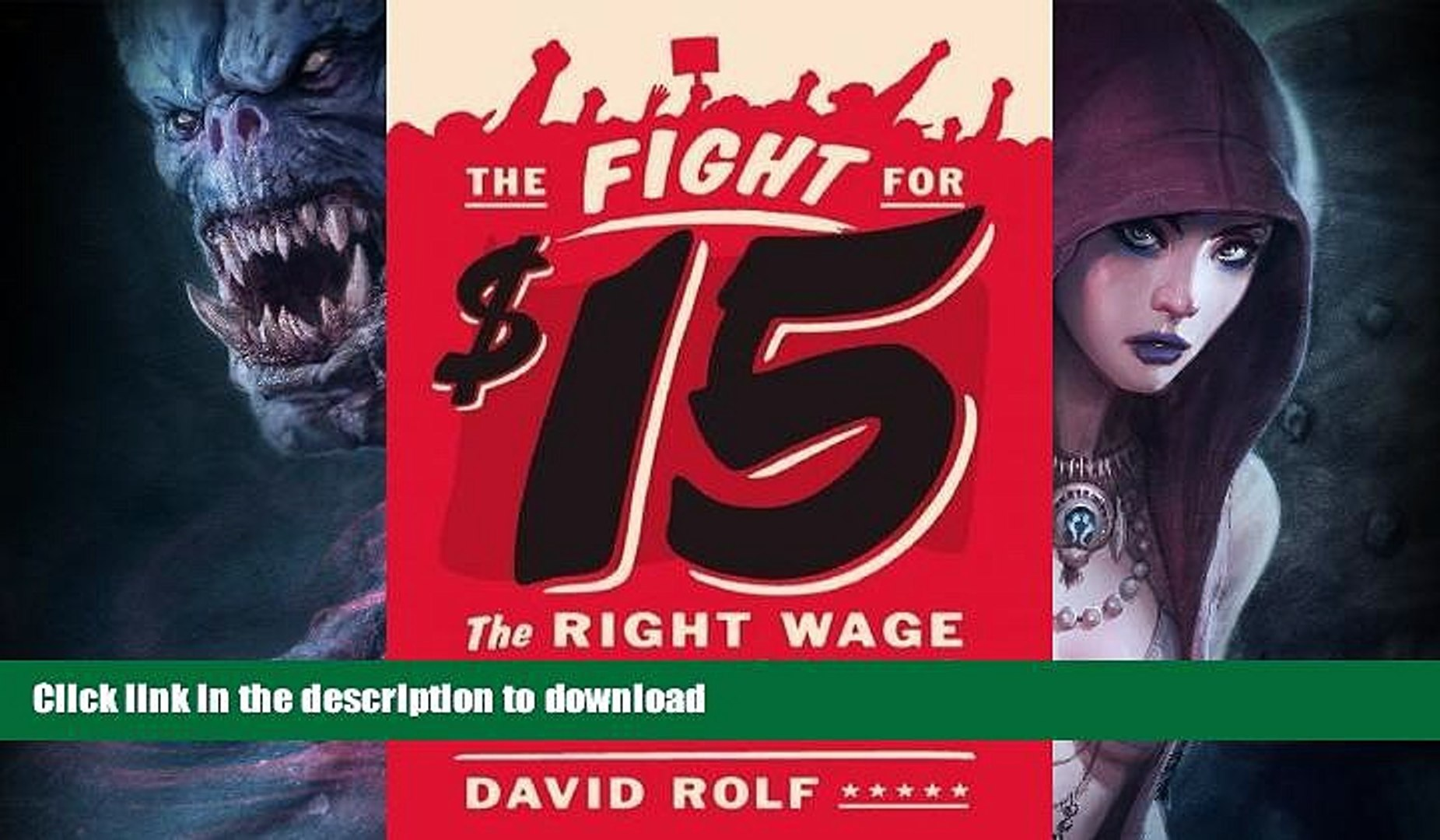 GET PDF  The Fight for Fifteen: The Right Wage for a Working America  PDF ONLINE