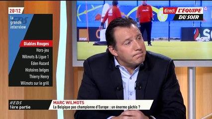 L'Equipe du Soir – Wilmots: «J'ai refusé l'Algérie parce que je préferais reprendre un club»