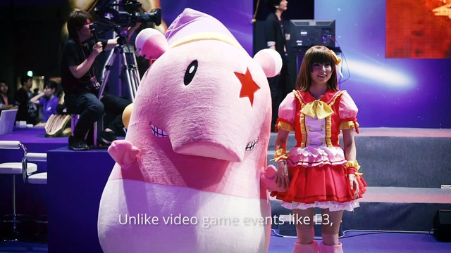 A DAY AT THE TOKYO GAME SHOW with GAMEKULT.COM