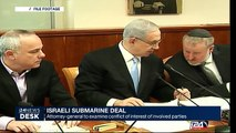 Israeli submarine deal :  Attorney-general to examin conflict of interest of involved parties