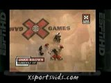 Chute Skateboard Jake Brown 720° X-Games