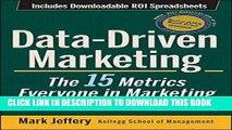 [PDF] Mobi Data-Driven Marketing: The 15 Metrics Everyone in Marketing Should Know Full Online