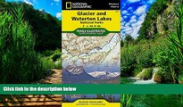 National Geographic Maps - Trails Illustrated Glacier and Waterton Lakes National Parks (National