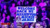 Mickie James Returns WWE NXT TORONTO | 2016