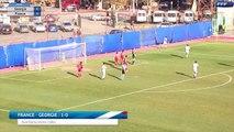 U19 Tournoi en Georgie, tous les buts