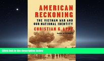 FAVORIT BOOK American Reckoning: The Vietnam War and Our National Identity BOOOK ONLINE