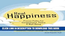 [DOWNLOAD] Audiobook Real Happiness: Proven Paths for Contentment, Peace   Well-Being FREE Online