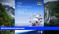 Deals in Books  FIA Foundations in Management Accounting FMA (ACCA F2): Paper F2: Study Text
