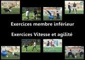 Exercices membre inférieur :  vitesse et agilité