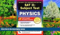Buy NOW  SAT II: Physics (REA) - The Best Test Prep for the SAT II (SAT PSAT ACT (College
