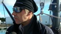 Tour du monde à la voile : Jeff Pellet s'élance (Vendée)