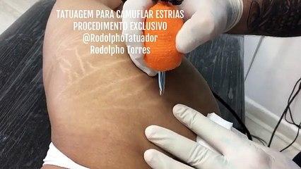 Camoufler ses vergetures grâce au tatouage @rodolphotatuador