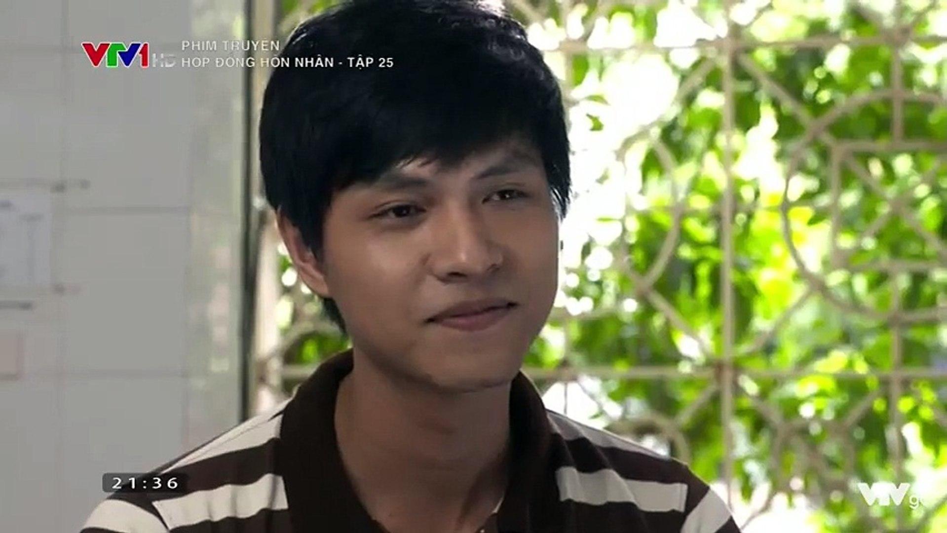 Hợp đồng hôn nhân tập 25 b Full VTV1   Phim Việt Nam Hay nhất