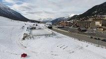 Hautes-Alpes : Ouverture de la station de Montgenèvre By Drone