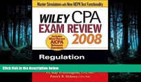 READ book Wiley CPA Exam Review 2008: Regulation (Wiley CPA Examination Review: Regulation) BOOK