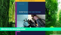 Must Have  Actief leren voor een beroep niveau 3-4: Activiteiten voor leerlingen in het mbo niveau