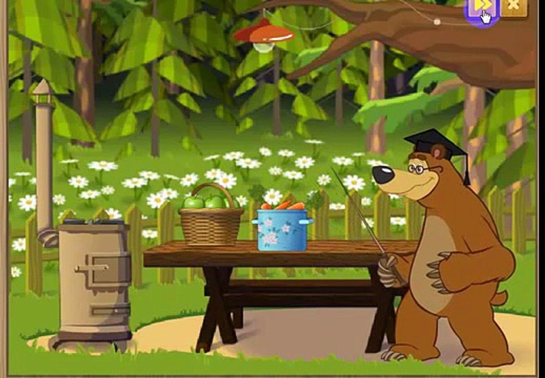 Маша и Медведь ведём Счет овощи фрукты и ягоды складываем и отнимаем Masha i medved new3273