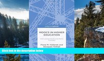 Buy NOW  MOOCs in Higher Education: Institutional Goals and Paths Forward  Premium Ebooks Online