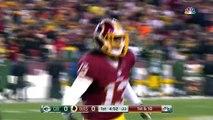 Kirk Cousins Leads Redskins on TD Drive! | Packers vs. Redskins | NFL