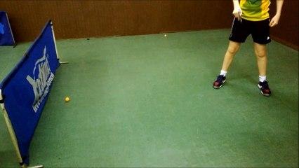 2-1-6 N°20 Les effets en jeu 4-Balle coupée latérale revers