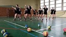 Concours Flashmob UNSS Handball, AS du lycée Jules Lesven à Brest