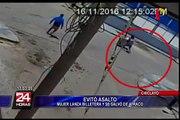 Ladrones son captados por cámaras de seguridad en Chiclayo y Chimbote