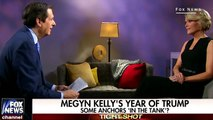 Megyn Kelly says reporters 'acting' with Trump