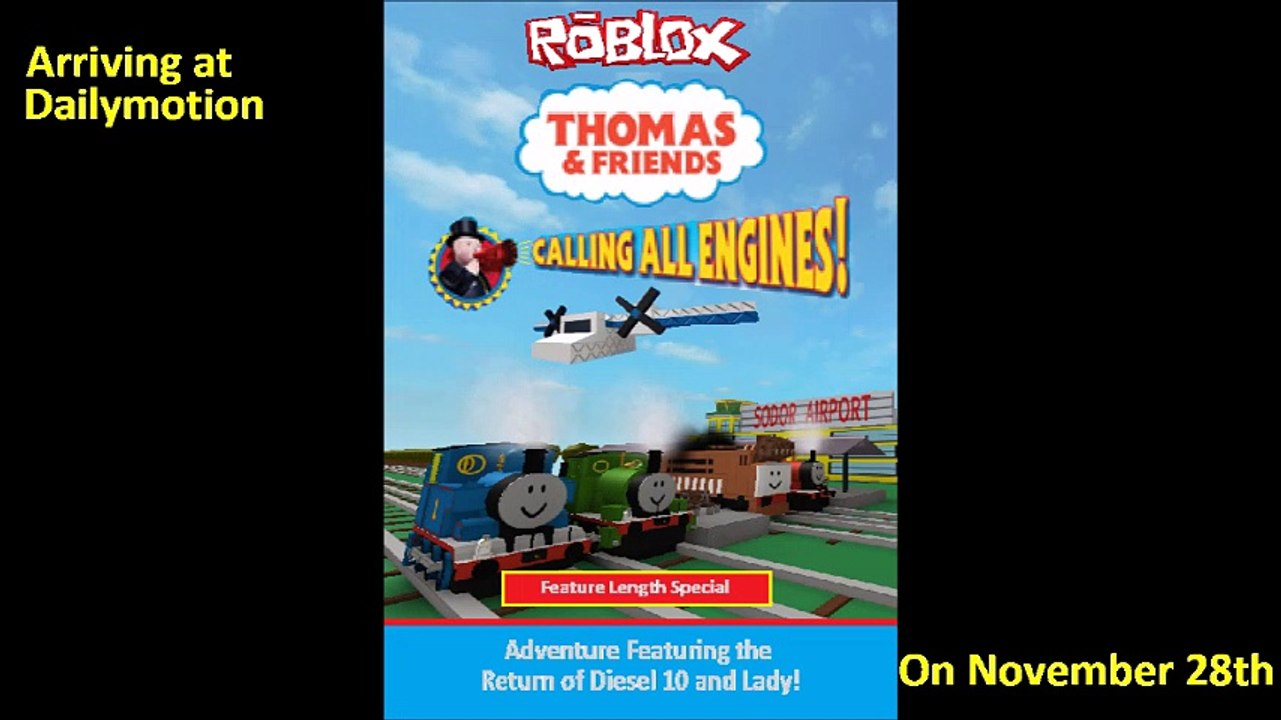 Roblox Calling All Engines Dailymotion Trailer - roblox thomas and friends trains