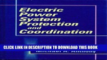 PDF Download Electric Power System Protection and