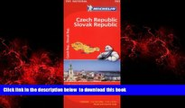 GET PDFbooks  Michelin Czech   Slovak Republic Map 731 (Maps/Country (Michelin)) BOOOK ONLINE