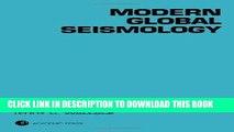 [READ] Ebook Modern Global Seismology, Volume 58 (International Geophysics) Audiobook Download