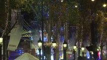 Les illuminations de Noël démarrent sur les Champs-Elysées