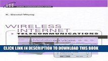 [READ] Online Wireless Internet Telecommunications (Artech House Mobile Communications) Free