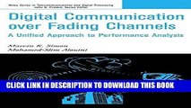 [READ] Ebook Digital Communication over Fading Channels: A Unified Approach to Performance
