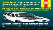 Best Seller Dodge Durango   Dakota Pick-ups: Durango 2000 thru 2003 Dakota 2000 thru 2004 (Hayne s