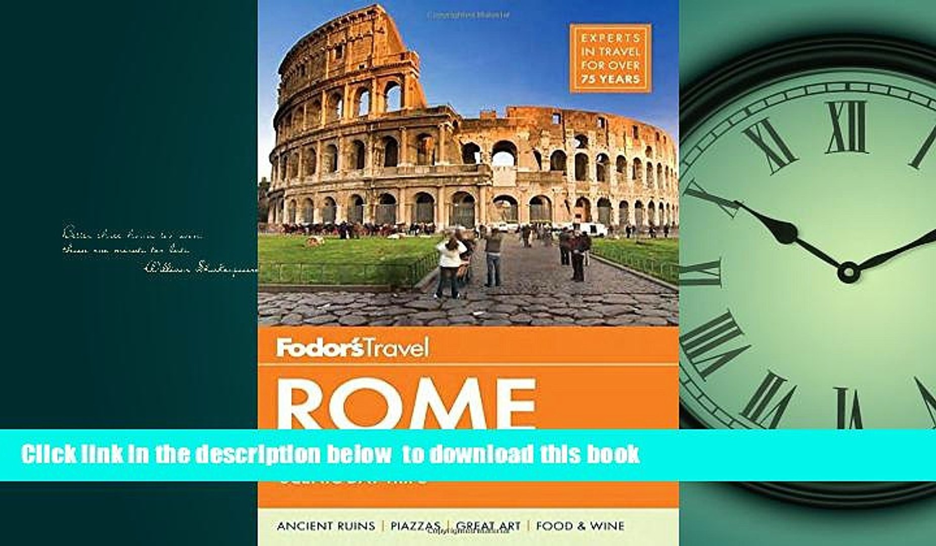 with the Best City Walks and Scenic Day Trips Fodors Rome
