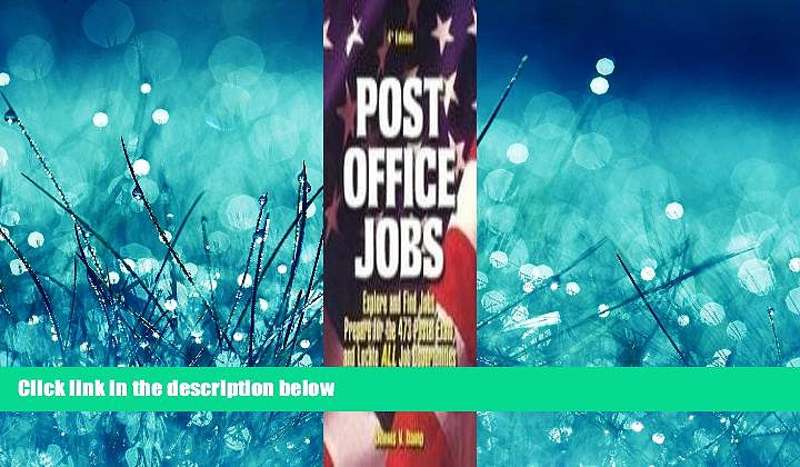 FAVORIT BOOK Post Office Jobs: Explore and Find Jobs, Prepare for the 473 Postal Exam, and Locate