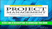 Best Seller Project Management: A Systems Approach to Planning, Scheduling, and Controlling Free