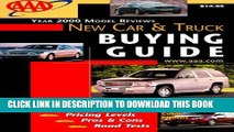 Ebook AAA New Car and Truck Buyer s Guide (AAA Auto Guide: New Cars   Trucks) Free Read