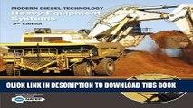 Ebook Modern Diesel Technology: Heavy Equipment Systems Free Download