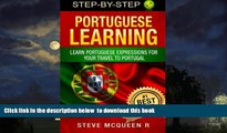 Best books  Portuguese Learning: Learn Portuguese Expressions For Your Travel To Portugal