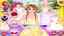 Beautiful Wedding Princess Dress - Frozen Anna Video Games For Girls