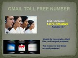 Gmail Toll Free Helpline Number 1-877-729-6626 to recover hacked Gmail account